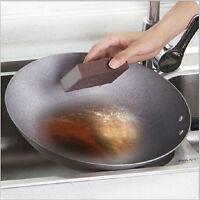 1pc Sponge Kitchen Nano Emery Magic Clean Rub The Pot Except Rust Focal Stains