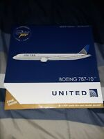United Airlines Boeing 787-10 Gemini Jets 1:400 Scale