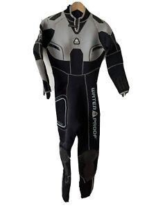 Waterproof Sweden Wetsuit Women's Size S Small W4 5mm Full Length Gray Diving