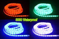 20/50/100cm Flexible LED Strip White/Warm/RGB 5630/5050 Waterproof  DC Connector