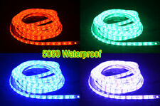 20/50/100cm Flexible LED Strip White/Warm/RGB 5630/5050 Waterproof With DC Plug