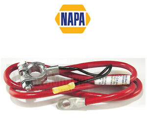 """Battery Cable NAPA BELDEN Red Positive 4ga 40"""" Long w 6"""" Lead"""