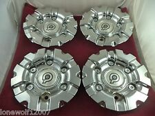 Dropstars Luxury Wheels Chrome Custom Wheel Center Cap # DS030200011 (4 CAPS)