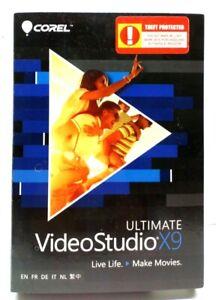 Corel VideoStudio Ultimate X9 VSPRX9ULMLMBCN