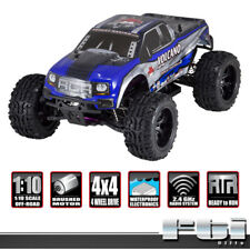 Redcat Racing Volcano EPX 1:10 BLUE SILVER Brushed Electric RTR RC Monster Truck