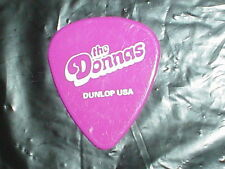 The DONNAS Logo & Allison Robertson Signature 2003 Concert Tour GUITAR PICK