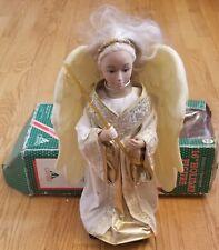 "Christmas Angel Fairy Figure Holiday Creations 16"" Posable"