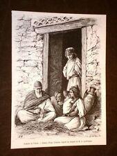 Famille de Traras en 1889