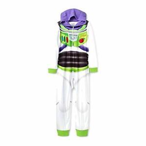 Toy Story 4 Disney Buzz Lightyear Boys Hooded Fleece Costume Pajama Sleeper