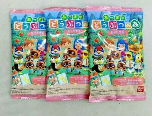 JAPAN animal crossing gummy cards/Random CARDS/The card collection NEW PINK PACK