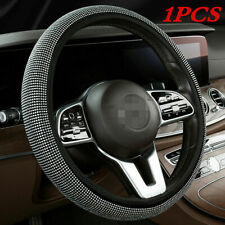 New listing Bling Crystal Diamond Steering Wheel Protector Cover for Car Truck SUV Accessory(Fits: LaCrosse)