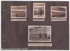 Foto Album Seite mit ---Kriegerheim am Klagesmarkt-- in Hannover