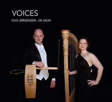 CD 'Voices' by Duo Jørgensen - de Leuw (theremin & harp)