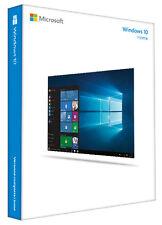 Microsoft Windows 10 Home 32 + 64 Bit Vollversion DVD + 2x Aktivierungsschlüssel