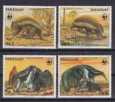 Briefmarken mit Motiven aus Paraguay
