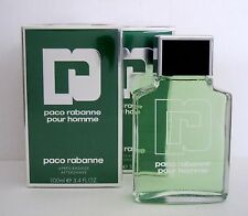 2x100ml * PACO RABANNE * pour homme * 100ml After Shave * NUOVO IN PELLICOLA
