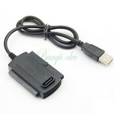 3 in 1 USB 2.0 to IDE SATA 2.5 3.5 Hard Drive HD HDD Adapter Converter Cable 2O