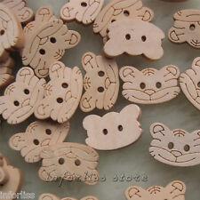25 botones con forma de cara de gato - cat face