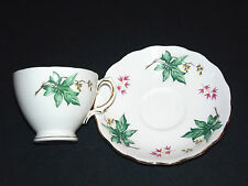 ROYAL VALE    CUP AND SAUCER  BONE CHINA,  MADE IN  ENGLAND