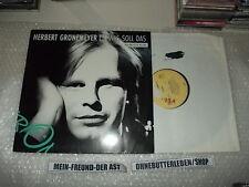 "LP pop Herbert Grönemeyer-Comment ça 12"" neumix (2 chanson) EMI Jim fusée"