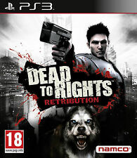Dead to Rights: Retribution (PS3) Two Playable Characters, FREE US First Class