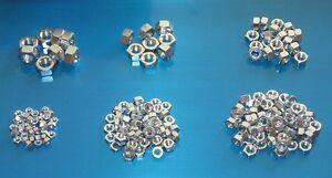 BSF Plain Nuts 200 Pack. Bristol 400 401 402 403 404 405 Frazer Nash Pininfarina