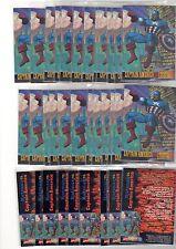 1X 1995 CAPTAIN AMERICA PROMO SAMPLE Bulk Lot available NRMT Skybox Marvel VS DC