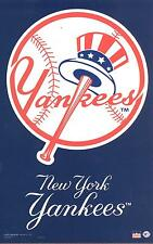 12 New York Yankees 5.5 x 8.5 inch Stickers