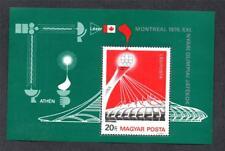 HUNGARY MNH 1976 MS3048 OLYMPIC GAMES - MONTREAL