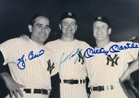 Mickey Mantle / Yogi Berra 8x10 SIGNED PHOTO AUTOGRAPHED ( Yankees HOF ) REPRINT