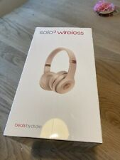 Beats by Dr. Dre Solo3 Solo 3 Wireless Headband Headphones- Rose Gold-SEALED