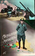 CARTOLINA REGGIMENTALE - ARTIGLIERIA ANTIAEREA - WWII SECONDA GUERRA   C9-2