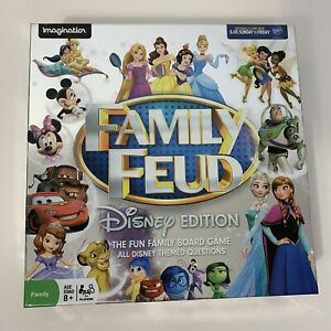 Family Fued Disney Edition Family Boardgame Disney Themed Question