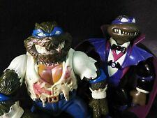 1993 TMNT Universal Monsters Leo Wolfman Don Dracula Turtles Vintage Rare