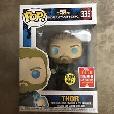 Thor Ragnarok #335 SDCC 2018 Funko pop! vinyl Glows in the dark