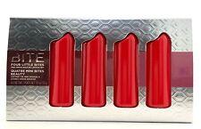 BITE BEAUTY Four Little Bites Amuse Bouche Lipstick Set 4 x .05g New in Tin