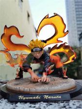 Anime Uzumaki Naruto Nine Tails Kurama Figure Collection PVC Toy 20cm No Box