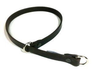 DOG SLIP Choker Collar Genuine Leather check training Rats Bum