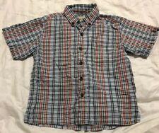Boy's Clothing J Khaki Striped Button Up Shirt Size 5