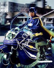 REPRINT 8x10 SIGNED AUTOGRAPHED PHOTO YVONNE CRAIG BATGIRL BATMAN 66 TV BATCYCLE