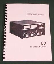 Drake L-7 Instruction Manual - Premium Card Stock & Protective Covers!