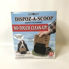 Dispoz-A-Scoop The Dog Walkers Pooper Scooper Bags Box of 24 For dogs to 100 lbs