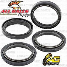 All Balls Fork Oil & Dust Seals Kit For Buell Helicon 1125 R 2009 09 Motorcycle