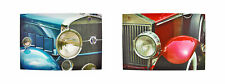 Zeckos Pair of Classic Cars Printed Canvas Wall Hangings