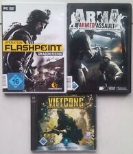 Vietcong + arma Armed Assault + Operation Flashpoint: Dragon Rising colección PC