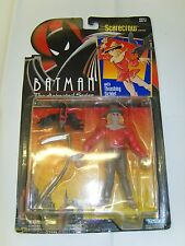 BATMAN ANIMATED SERIES.SCARECROW ACTION FIGURE.MINT ON GOOD CARD
