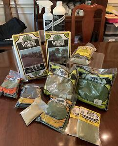 Miniature Lot of Woodlands Scenics Landscaping Kits & Supplies