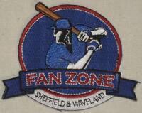 Fan Zone Patch - Sheffield & Waveland Wrigley Cubs - Chicago MLB - Baseball