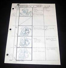 TIM BURTON BEETLEJUICE - Original Production Art Illustration Drawing