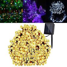 200 LED Fairy Starry String Lights Solar Outdoor Garden Wedding Lawn Party Decor